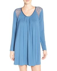 Midnight By Carole Hochman - Jersey Sleepshirt - Lyst