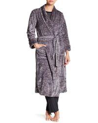 N Natori - Plush Melange Robe - Lyst