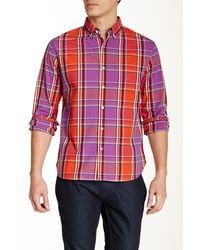 Bonobos - Seadown Plaid Long Sleeve Standard Fit Shirt - Lyst