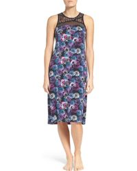 Midnight By Carole Hochman - Nightgown - Lyst