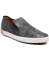 Blackstone - Distressed Leather Slip-on Shoe - Lyst