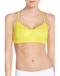 Alo Yoga - Sunny Strappy Soft Cup Bralette - Lyst
