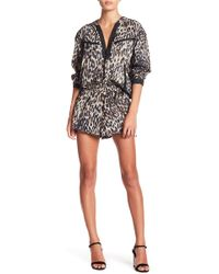 Kendall + Kylie - Leopard Shorts - Lyst