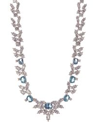 CZ by Kenneth Jay Lane - Cz Spike Necklace - Lyst