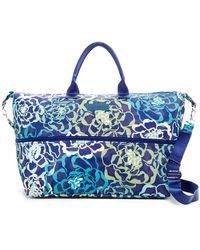 Vera Bradley - Lighten Up Expandable Travel Bag - Lyst