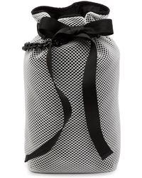 Kendall + Kylie - Dina Silk & Nylon Mesh Backpack - Lyst