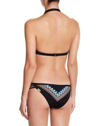IMSY Swim - Chelsea Pattern Reversible Bikini Bottom - Lyst