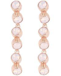 a73133893 Ted Baker - Catiia Crystal Tumble Drop Earrings - Lyst