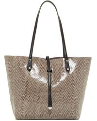 Sorial - Reversible Leather Tote - Lyst