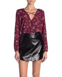 Jack BB Dakota - Allora Printed Top - Lyst