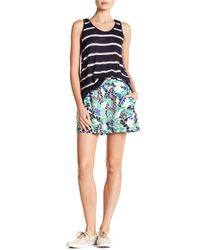 Joe Fresh - Patterned Crepe Shorts - Lyst