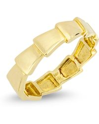 Bony Levy - 14k Yellow Gold Overlapping Accent Ring - Lyst