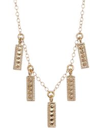 Anna Beck - 18k Gold Plated Sterling Silver Tassel Necklace - Lyst