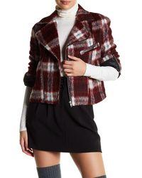 Slate & Stone - Ava Biker Wool Blend Jacket - Lyst