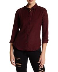 Slate & Stone - Emma Long Sleeve Snap-front Shirt - Lyst