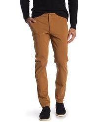 Dockers Alpha Khaki Smart Flex Skinny Pants - Multicolour