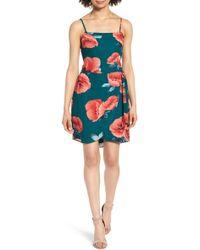 Mimi Chica - Floral Print Minidress - Lyst