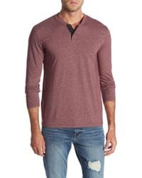 Lucky Brand - Long Sleeve Knit Henley - Lyst
