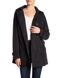 MICHAEL Michael Kors - Hooded Trench Coat - Lyst