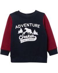 Joe Fresh - Crew Popover Sweatshirt (baby Boys) - Lyst