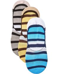 Sperry Top-Sider - Skimmer Liners - Pack Of 3 - Lyst