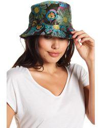 Steve Madden - Floral Stitched Bucket Hat - Lyst