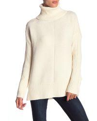 Sweet Romeo - Cool Girl Rib Knit Sweater - Lyst
