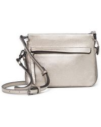 Vince Camuto - Edsel Small Leather Crossbody Bag - Lyst