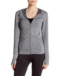 Sweet Romeo - Compression Hooded Jacket - Lyst
