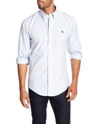 Brooks Brothers - Pinstripe Sport Fit Shirt - Lyst