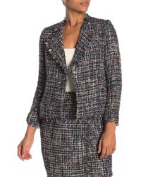 Cece by Cynthia Steffe - Multi Tweed Moto Jacket - Lyst