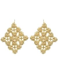Moon & Lola - Adana Filigree Drop Earrings - Lyst