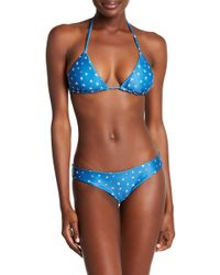 Bermies - Starfish Cheeky Bikini Set - Lyst