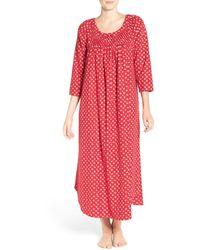 Carole Hochman - Flannel Nightgown - Lyst