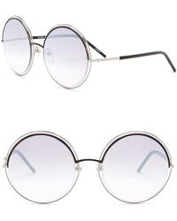 Marc Jacobs - 56mm Round Sunglasses - Lyst