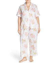 Carole Hochman - Designs Floral Print Cotton Pyjamas (plus Size) - Lyst