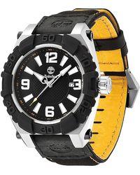 Timberland - Men's Hookset Nylon Strap Watch, 43mm - Lyst
