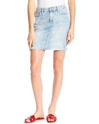 Big Star - Kara Denim Pencil Skirt - Lyst