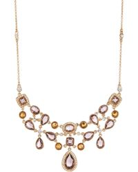 Carolee - Cluster Frontal Necklace - Lyst