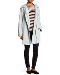 7 For All Mankind - Belted Trench Coat - Lyst