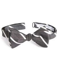 John W. Nordstrom - Young Stripe Silk Bow Tie - Lyst