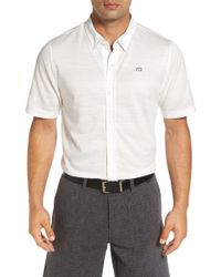 Travis Mathew - Holden Trim Fit Sport Shirt - Lyst