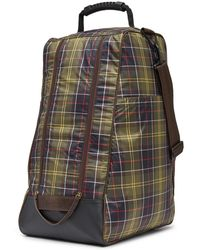 Barbour - Tartan Boot Bag - Lyst