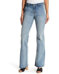 Miss Me - Braided Midrise Flared Jeans - Lyst
