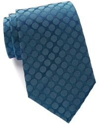 Kenneth Cole Reaction - Veloutine Silk Dot Tie - Lyst