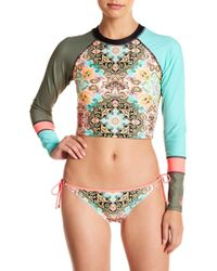 Body Glove - Pompeii Let It Be Rashguard Top - Lyst