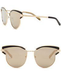 Karen Walker - Superstars Felipe 57mm Cat Eye Sunglasses - Lyst