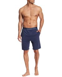 Lacoste - Solid Sleep Shorts - Lyst