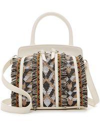 Sam Edelman - Bobbi Leather Micro Top Handle Bag - Lyst