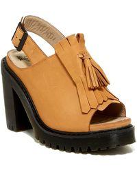 Dr. Martens Seraphina Slingback Platform Sandal - Brown